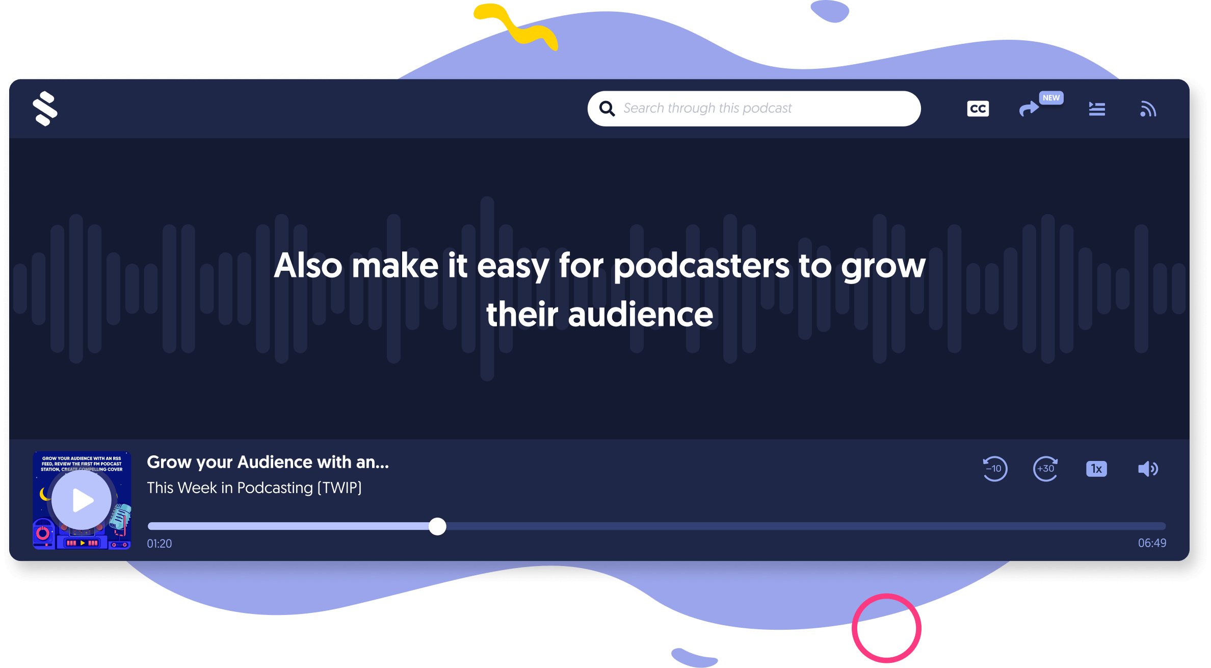 A Premium Audio Player Built for Every Creator